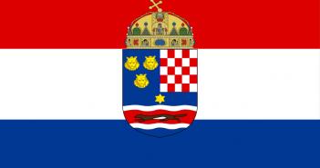 Zastava Trojedne kraljevine Hrvatske, Slavonije i Dalmacije